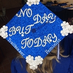Graduates customized cap